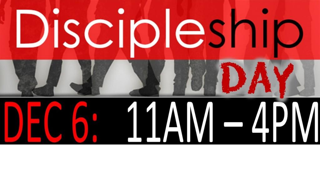 Discipleship Day Dec 6 2014