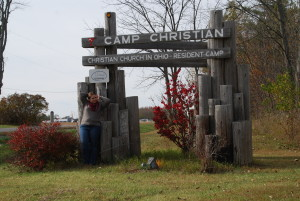 Camp Christian sign