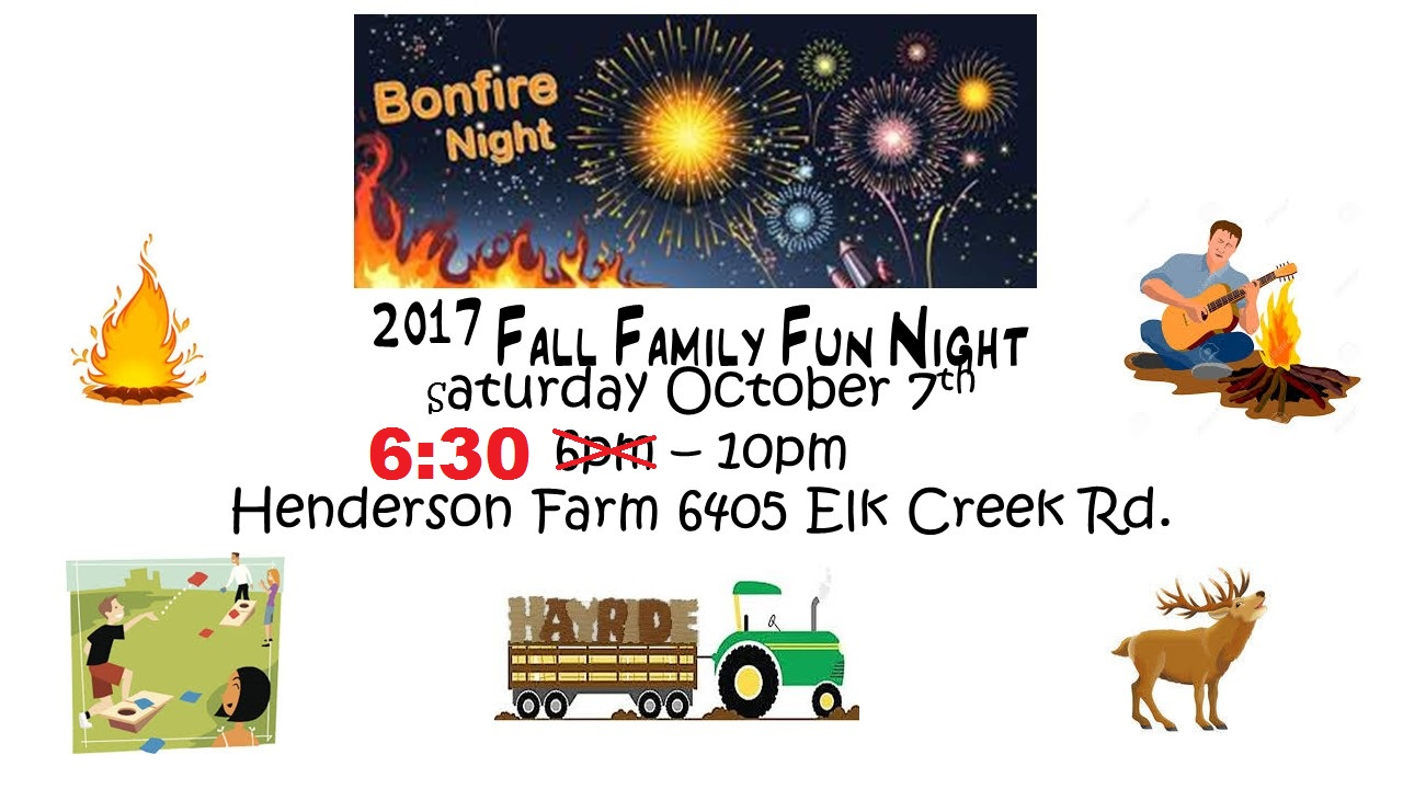 2017 Fall Family Fun Night