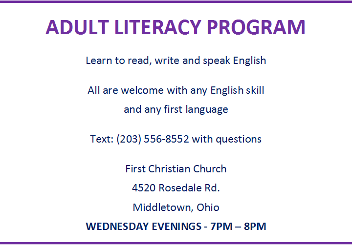 Adult Literacy Program