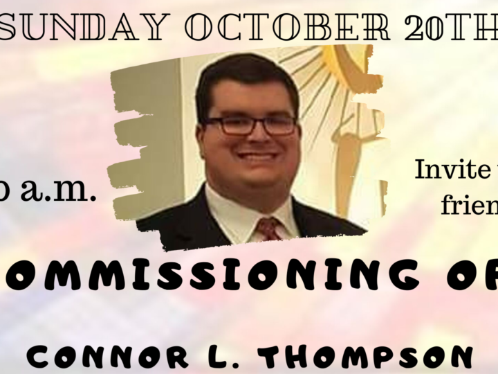 Commissioning of The Rev. Connor L. Thompson
